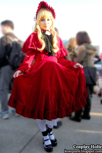 rozen maiden cosplay - shinku from comiket 81