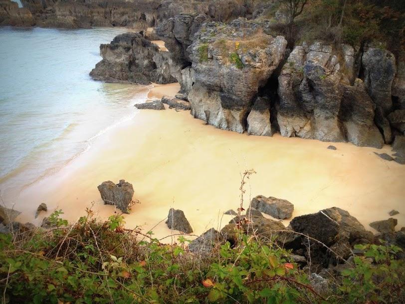 Playas vírgenes en el Paseo de la Costa