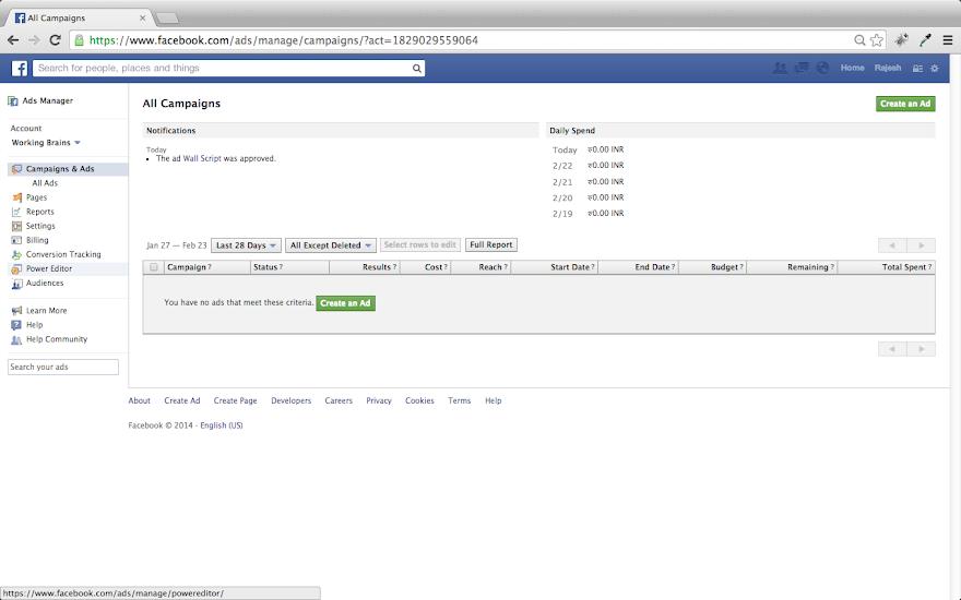 Create Effective Facebook Banner Advertisement.