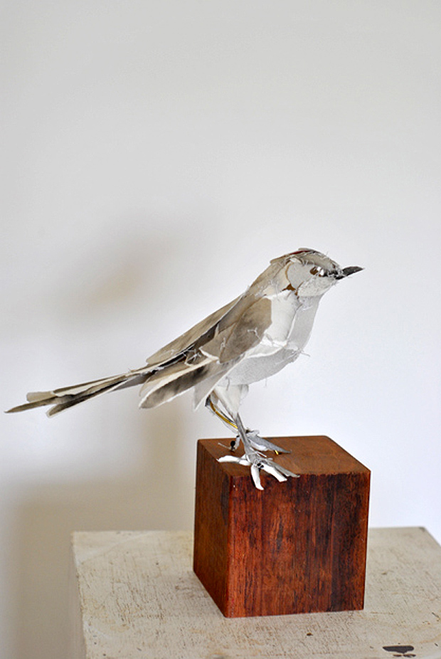 Paper Animal Sculptures by Anna-Wili Highfield