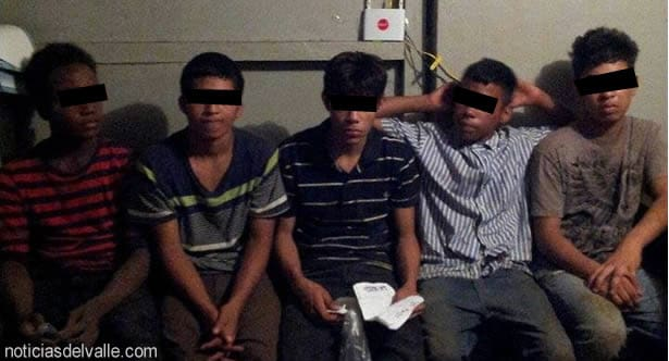 Capturan a hondureños que golpearon y despojaron de arma a un agente policiaco