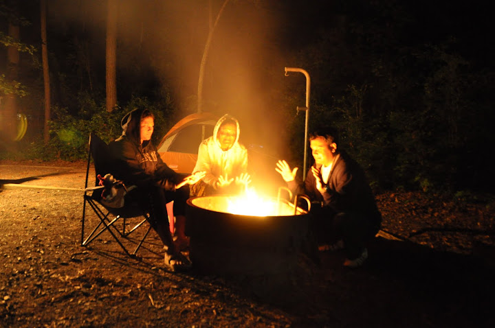 Badin Lake Camping