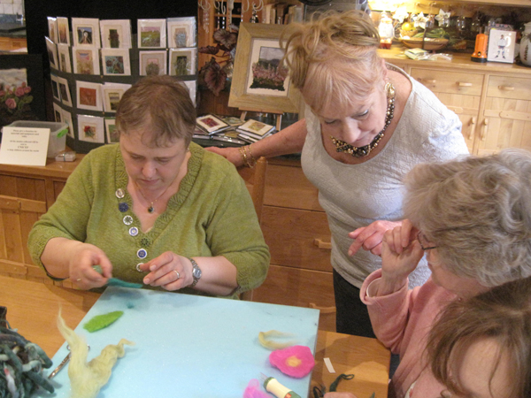 Hand Felting with Gilda Baron