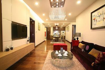 Ghé thăm nội thất căn hộ Hòa Bình Green City