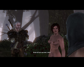 The Witcher 2 / Ведьмак 2 -Triss - Nude Patch / нуд мод