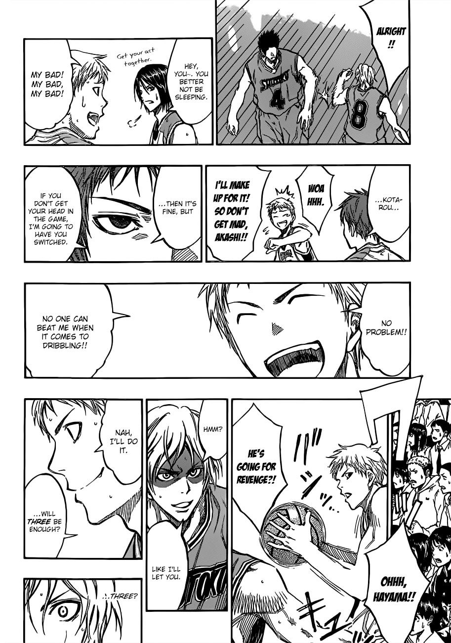 Kuroko no Basket Manga Chapter 176 - Image 16