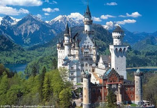 Neuschwanstein Castle Disney, Neuschwanstein Castle Germany