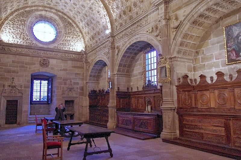 Turismo rural en Sigüenza. Sacristía Mayor o de las Cabezas, catedral de Sigüenza