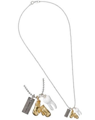 Marc By Marc Jacobs Knockout Charm Necklace