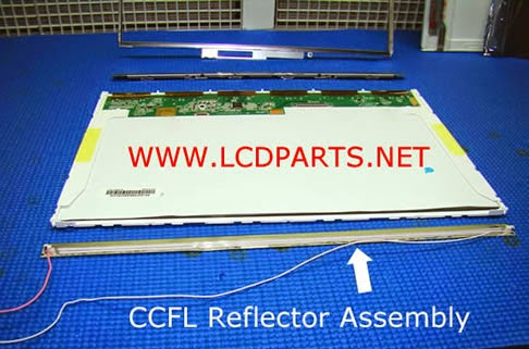 CCFL LCD in assembly