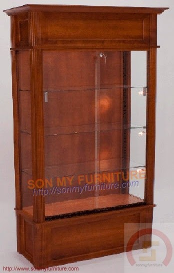 Tủ trưng bày gỗ 33