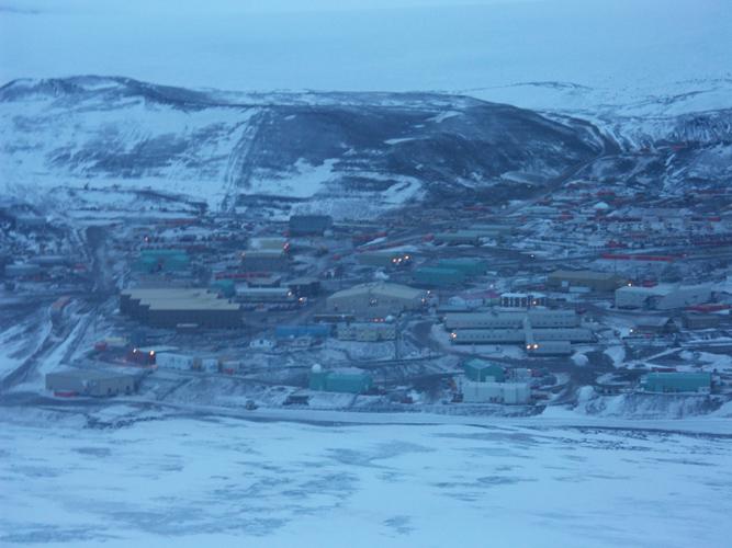 McMurdo Station.(photo by J. Priscu)