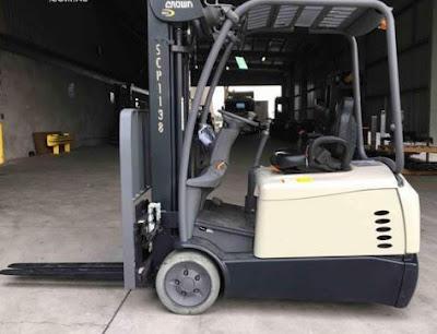 Xe nâng điện 3 bánh Crown SC5200