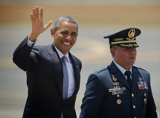 Obama heads home after Asia tour