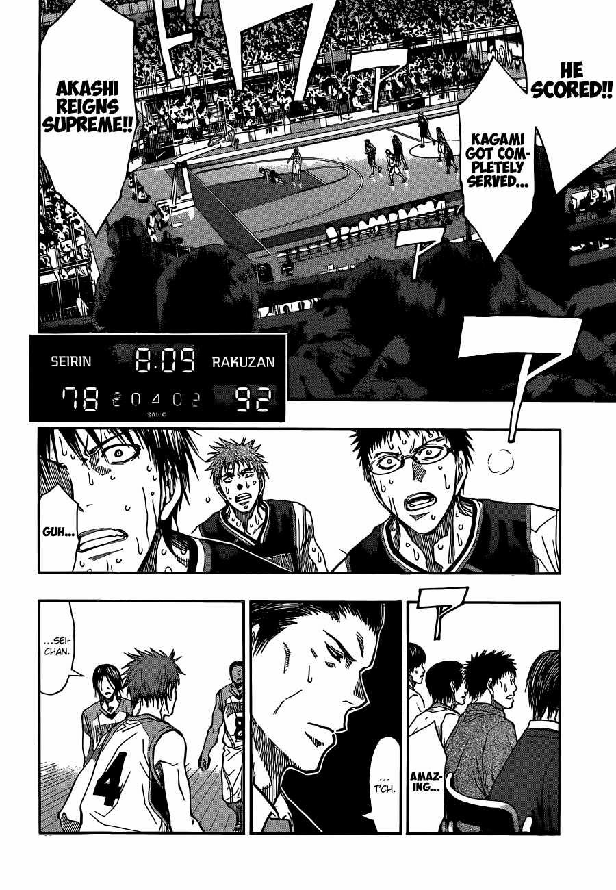 Kuroko no Basket Manga Chapter 262 - Image 10