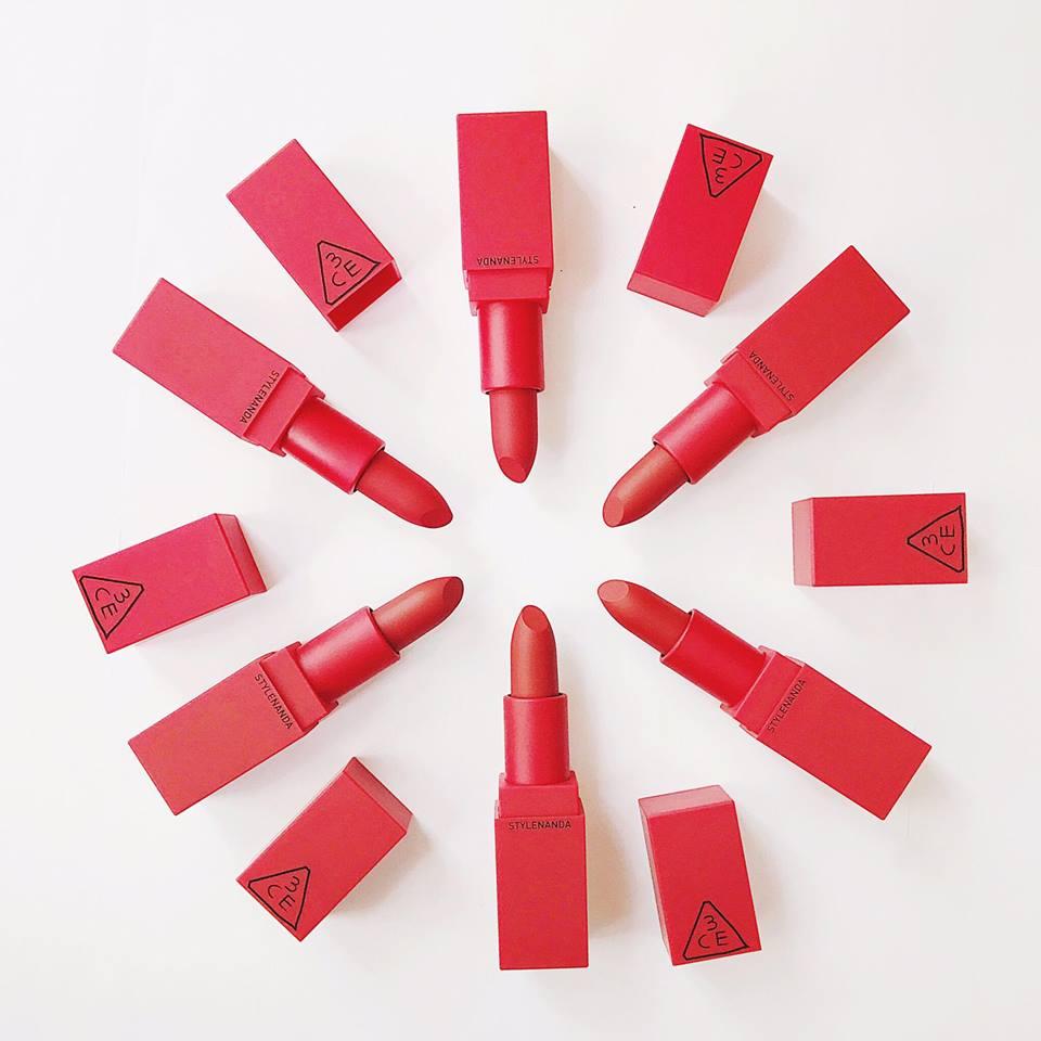 3CE Red Recipe Matte Lip Color