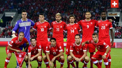 áo bóng đá đội Thụy Sĩ