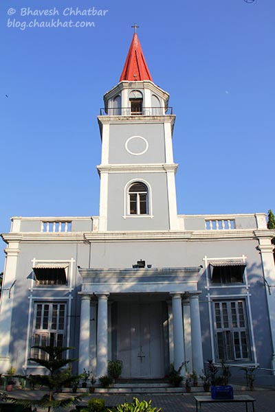 Entrance of St. Mary's Church, Pune
