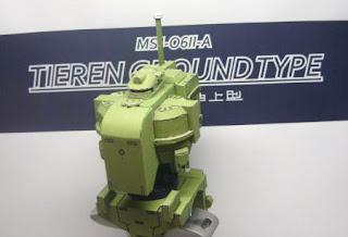 Tieren Ground Type Papercraft Gundam