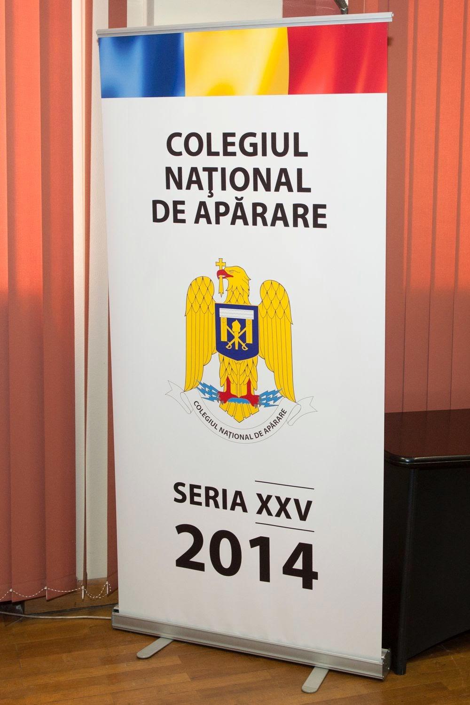 Principele Radu, prelegere la Colegiul Național de Apărare, 7 mai 2014