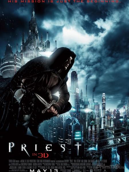 Giáo Sĩ Thầy Tu Diệt Ma Cà Rồng – Priest Bản Đẹp Full HD (2011)
