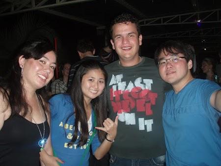 Paula, Emilyzitcha, Fábio & eu