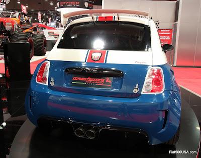 Cinquone Stradale USA Tribute rear