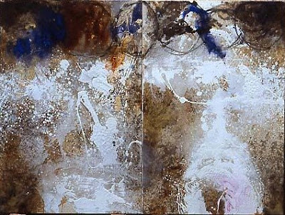 Mouvement, 1997 100 x 160 cm, dyptique, t.m. sur toile