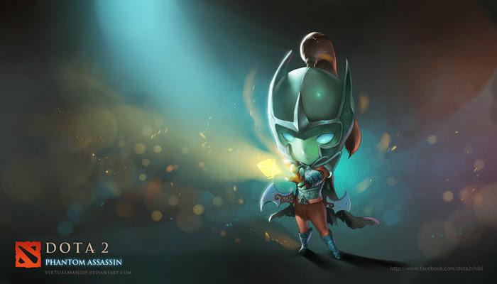 Các anh hùng DotA 2 qua nét vẽ chibi của VitualMan209 - Ảnh 2
