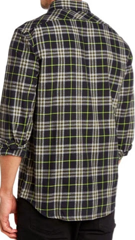 Original Penguin Check Flannel Shirt from House of Fraser