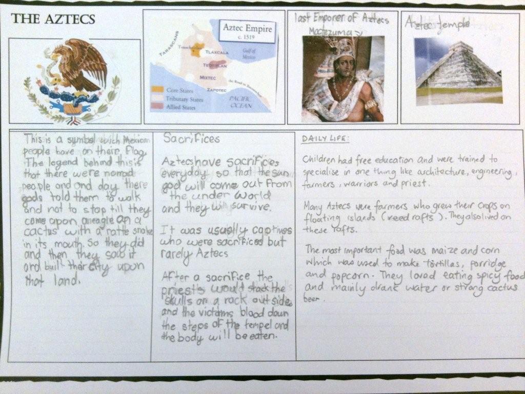 aztec essay example