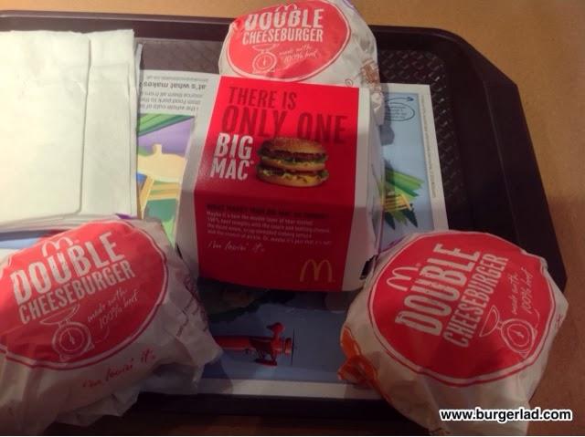 McDonald's Monster Mac