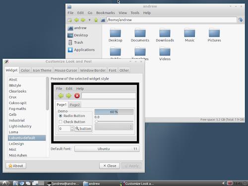 Lubuntu 11.10 Ozone2