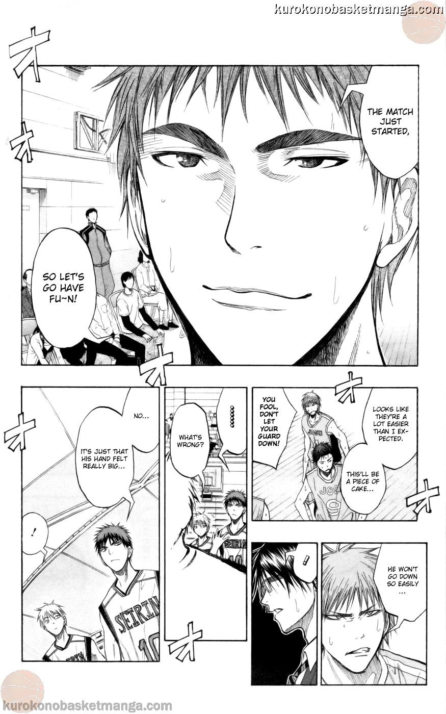 Kuroko no Basket Manga Chapter 82 - Image 08