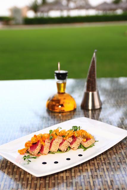 Sapore restaurant at Le Meridien Al Aqah Resort