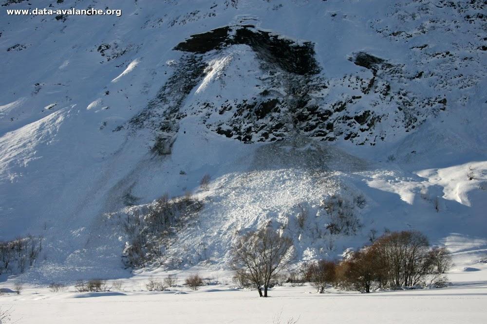 """Avalanche Haute Maurienne, secteur Pointe de Méan Martin, Ente """"les Roches"""" et """"Les Buffettes"""" - Photo 1"""