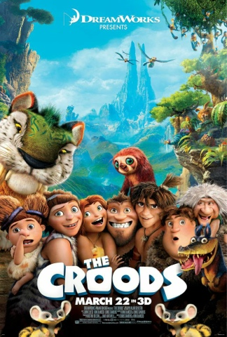 Dreamworks The CROODS Preview and Giveaway