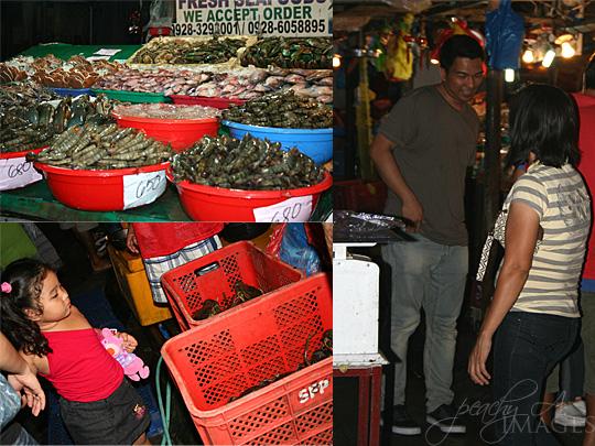 DAMPA: Claire dela Fuente Seafood Place