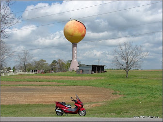Peach Tower in Clanton, AL