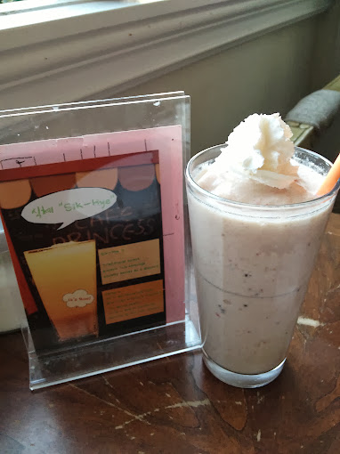 A shake at Cafe Princess