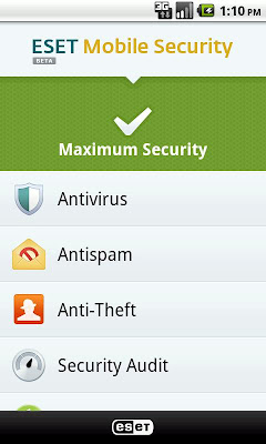 Free Antivirus For Your Android Devices With ESET Mobile Security