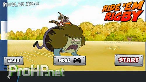 Ride 'Em Rigby – Regular Show v1.0