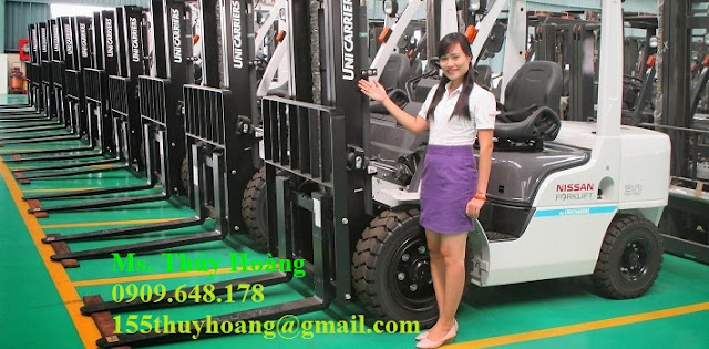Nissan Forklift by Unicarriers