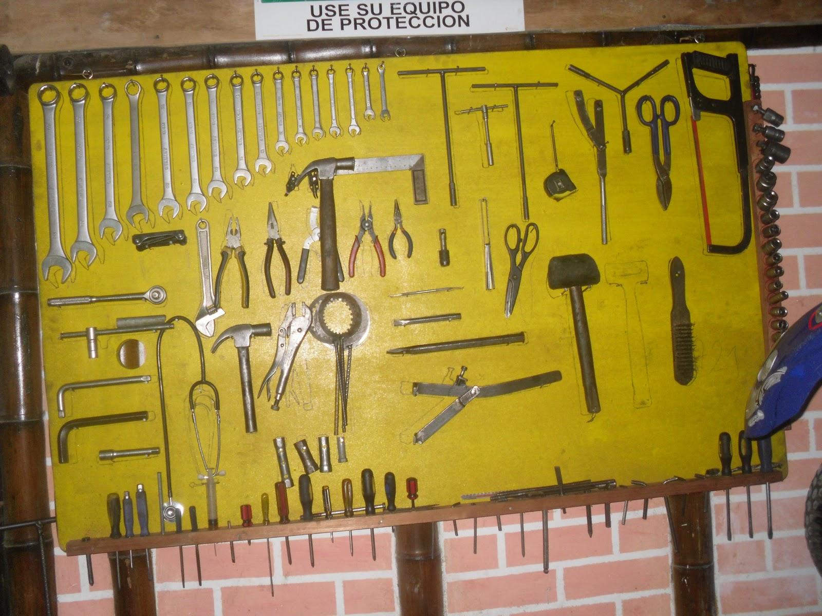 Mecanica de motos sena tablero de herramientas b sicas y - Tablero de herramientas ...