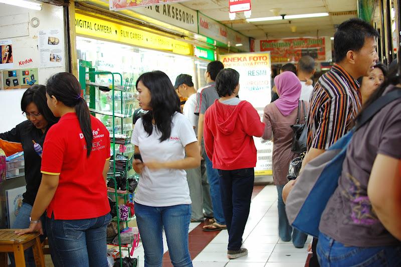Toko kamera di Pasar baru