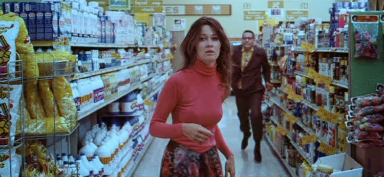 Anitra Ford is lost in the supermarket.