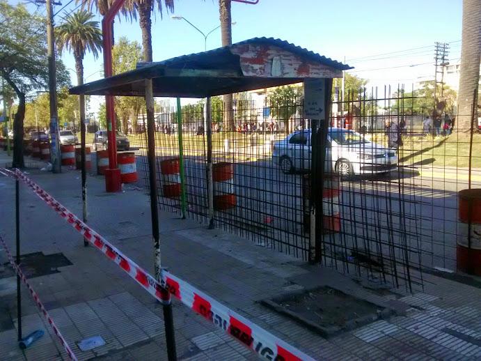 El municipio informó sobre trabajos de Obras Públicas en Marabó y en las veredas de la estación