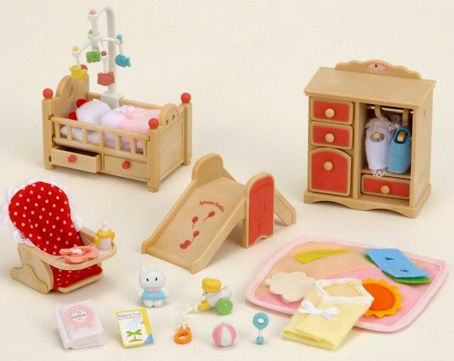 SF 2954 Phòng dành cho bé với nhiều đồ vật đẹp mắt