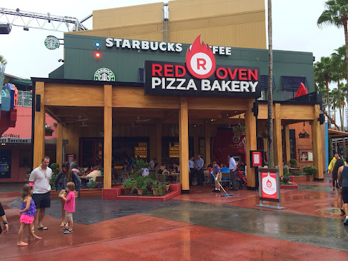 Red Oven Pizza Bakery Universal Orlando CityWalk Opening Day Video