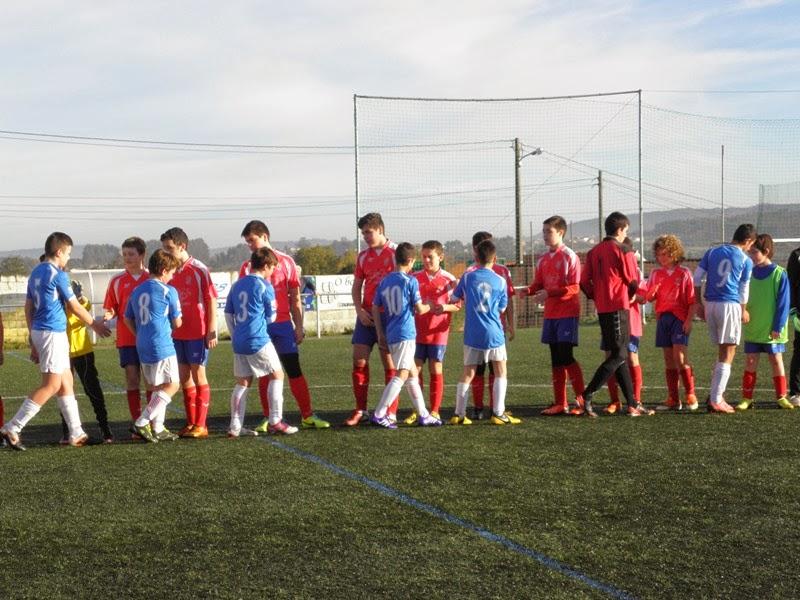 Instante partido de ida infantil Numancia - O Val (14/12/2013)